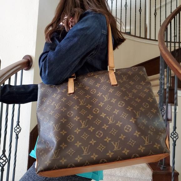 e69e12133461 Louis Vuitton Handbags - Louis Vuitton Monogram Canvas Cabas Piano Bag